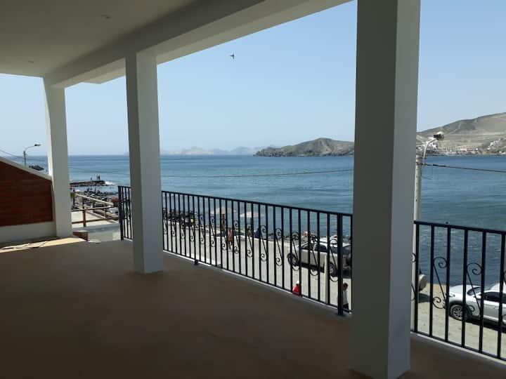 Casa de Playa, ideal para reuniones familiares.
