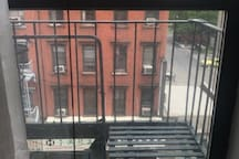 HUGE room with ac, fire escape, private entrance