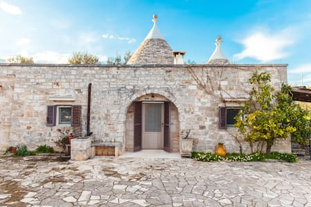 Trullo Ventura with pool - Bari
