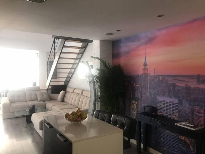 Ático duplex estilo loft