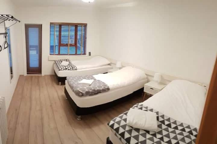 Puffin Palace Guesthouse - Triple Room with Shared Bathroom