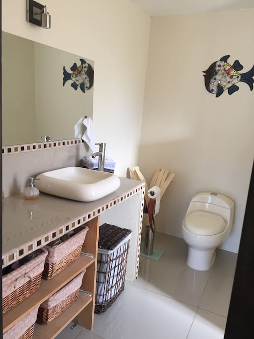 Private and spacious bathroom