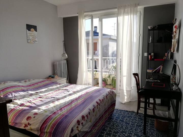 Belle chambre calme et propre