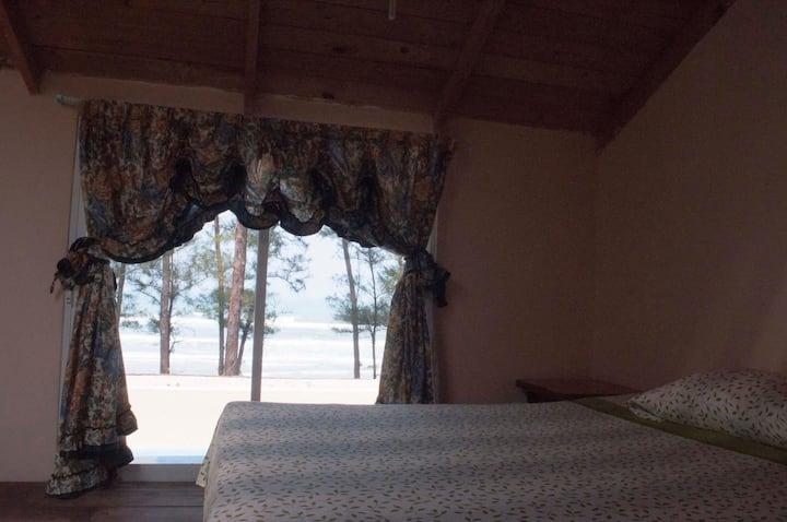 Casa de playa para disfrutar la naturaleza con A/C
