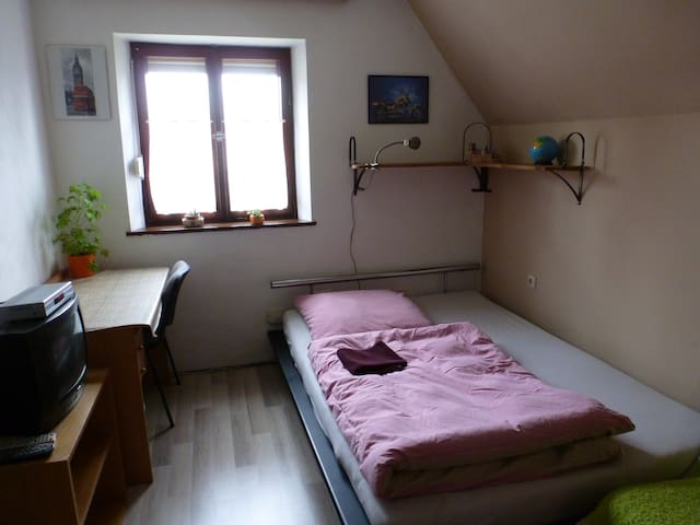 Simple cute little room in one-family house - Tapfheim - House