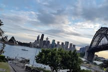 Location shot - 3 minutes walk, close to Kirribilli village and Luna Park