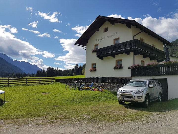 FERIENHAUS - SONNBLICK im Garten der Dolomiten