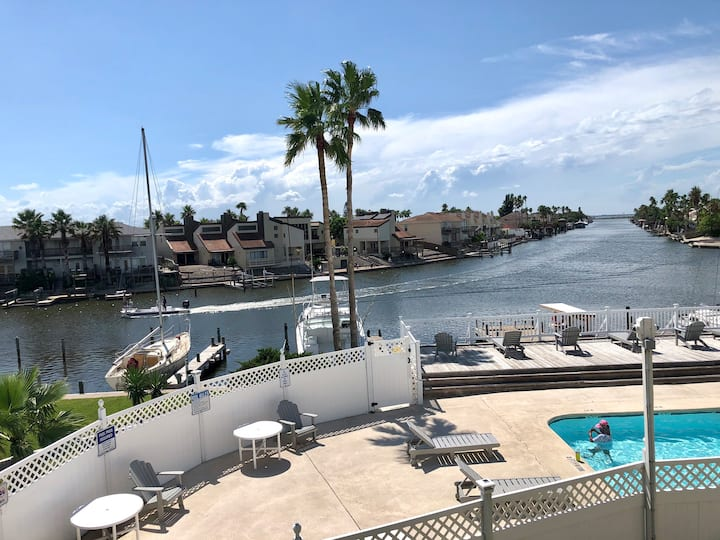 Canal View❤️fishing Dock❤️Close to Beach❤️Waterfront