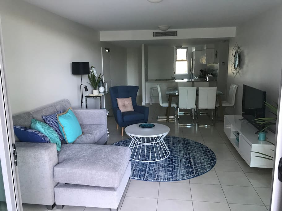 Living Area and Dining