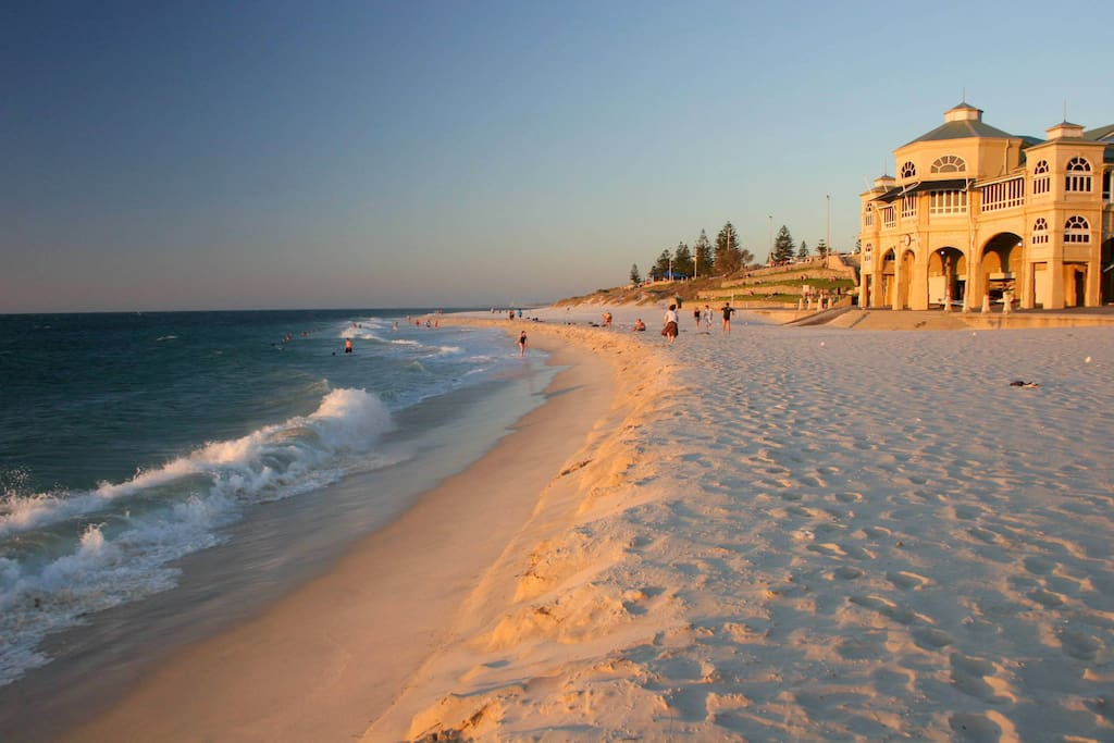 Cottesloe Beach at Sunset - just a 12 min walk away.