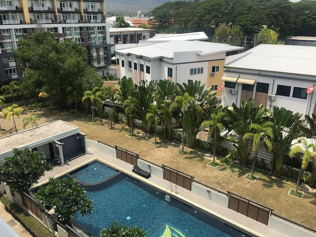 靠近清迈大学 宁曼路 距离机场20分钟 - Chiang Mai - Apartment