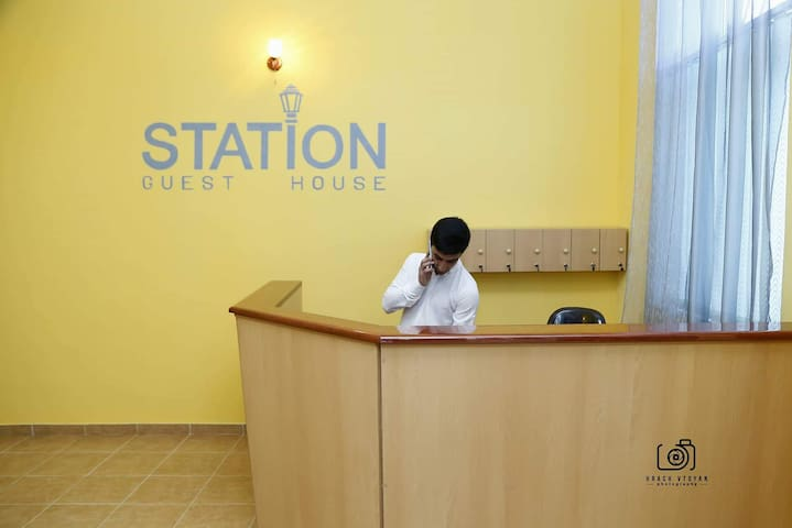 Station guest house