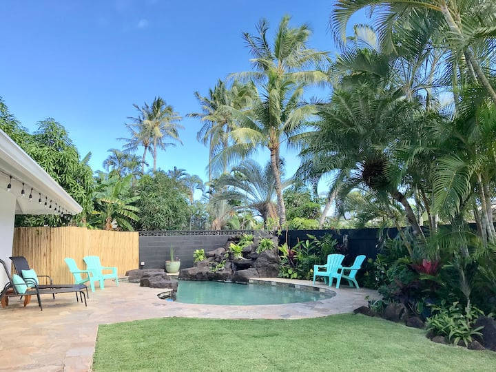 Tropical Oasis in Kailua - 30 day minimum