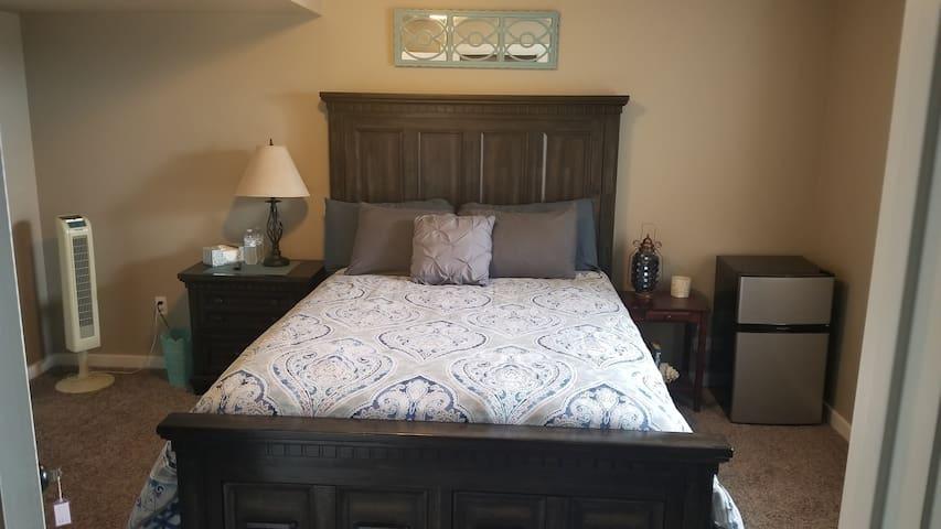 Quiet Private Room on Separate Floor