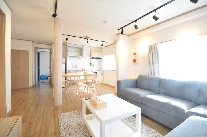 【NEW  OPEN】3BHK★Close to Umeda/Namba/Kyoto★Wi-Fi