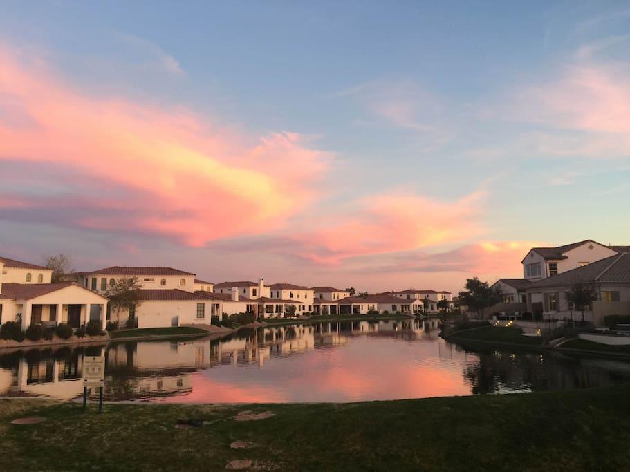 Sunset of the community