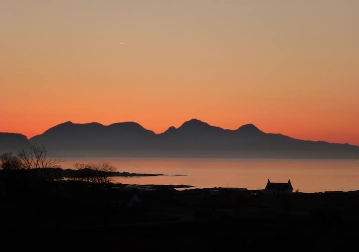 Glamping Pod , Arisaig, walking distance to beach