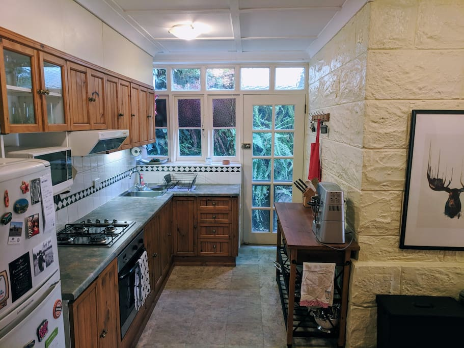 Fully Equipped Kitchen with Espresso Machine