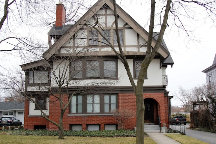1909 Tudor in the Neighborhood of the Arts