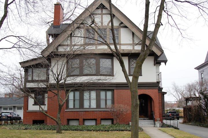 1909 Tudor in the Neighborhood of the Arts