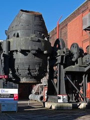 Kelham Island Museum:  Sheffield's industry and steelmaking history, a short drive or 20 min walk from the apartment