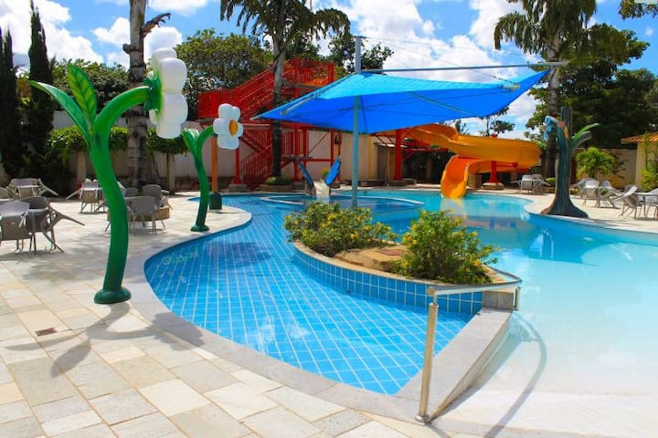 Apartamento  diRoma Resort Piscina 24 horas