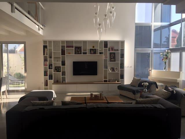 Magnifique Villa Moderne-Spacieuse, idéale famille - Нетания - Дом