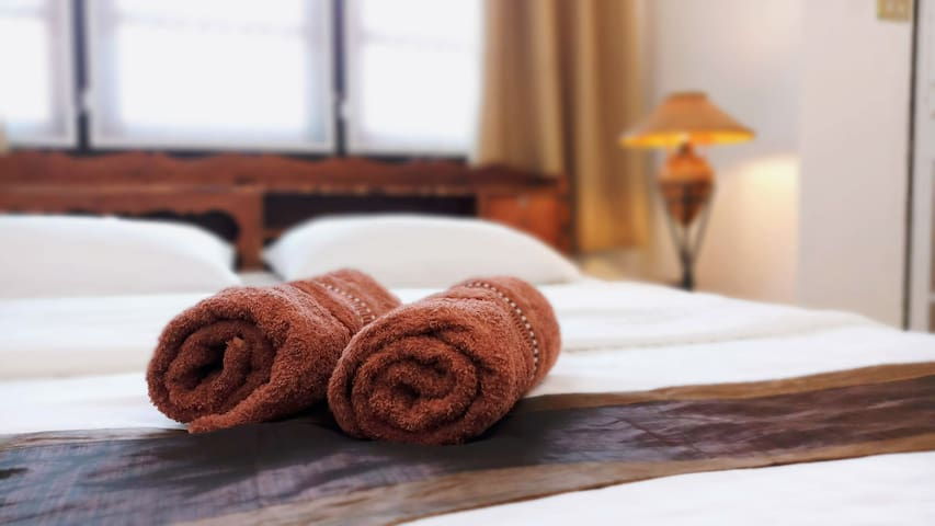 Towels are provided for all guests.