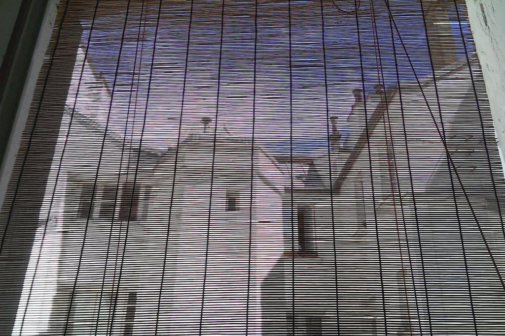 vue de l'une des deux fenêtres
