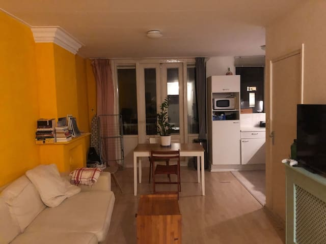 Single Room in Stylish Apartment in Oude West