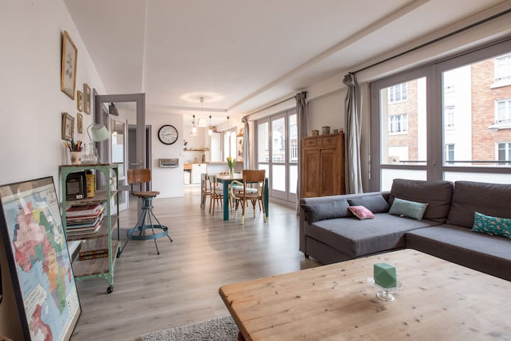 100m2, 3 chambres, hypercentre - Lille - Appartement