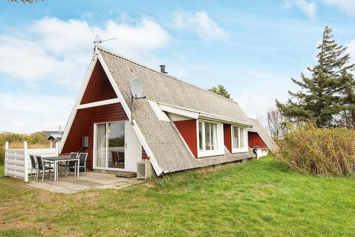 Rustikales Ferienhaus in Rømø mit großen Terrassen