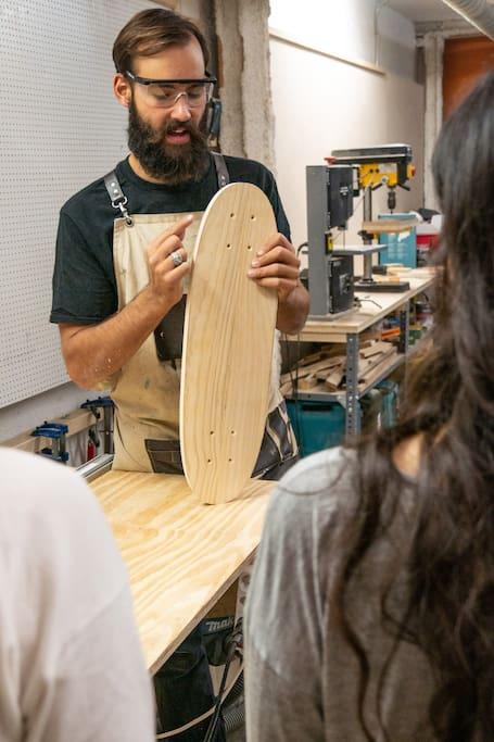 Designe dein eigenes Skateboard!