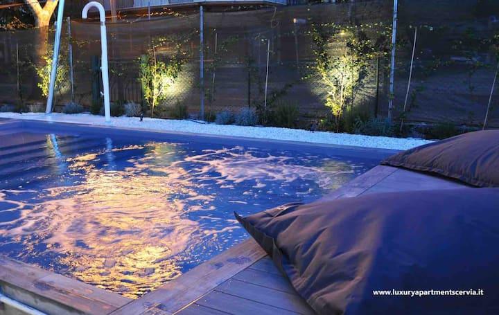 Villa Luxury con Piscina Idromassaggio Privata