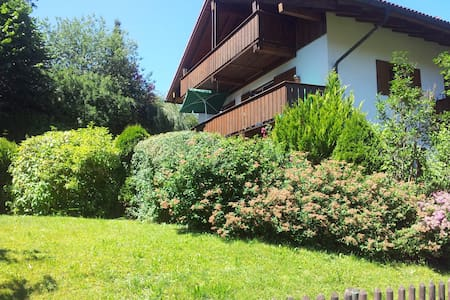 Holiday apartment with mountain view - Bad Kohlgrub - Daire