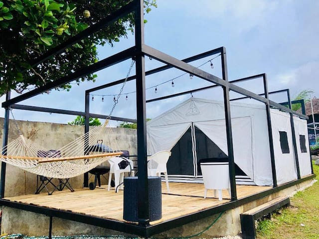 """Experience GLAMPING by BLOC: """"Where Art & Architecture meet Adventure!"""""""