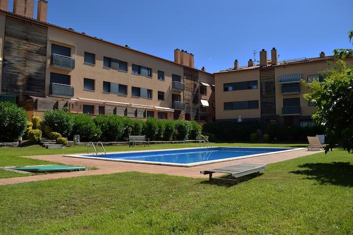 Appartement 6 personnes avec piscine Calonge