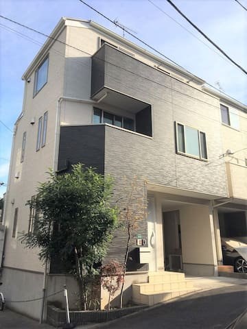 Center of Tokyo 4BR & paring downtown close to JR
