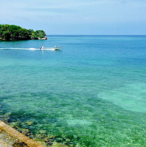 MY PRIVATE PARADISE.Isla Grande