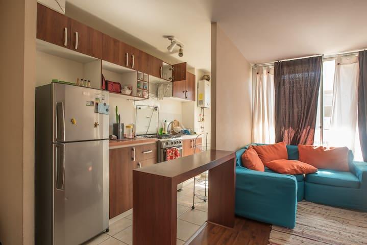 Sweet Home (Pieza Matrimonial) + Transfer Service - Santiago - Appartement