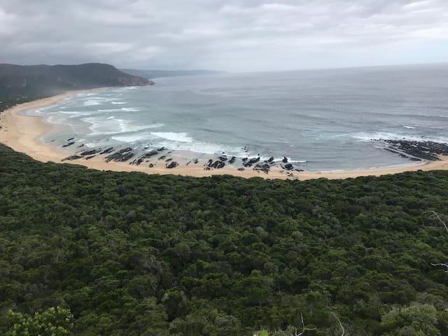Just a dune between
