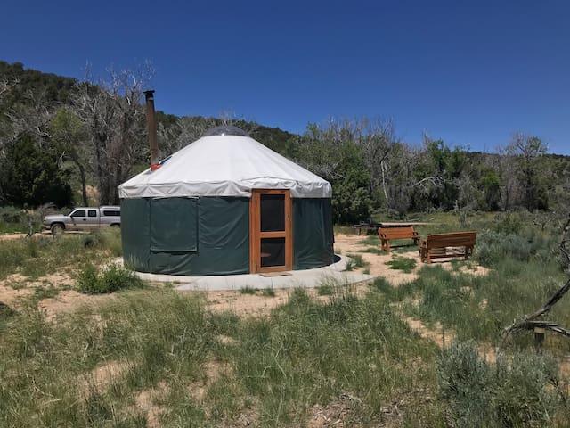 Bryce Canyon UYurt Adventure Rentals-SPRUCE