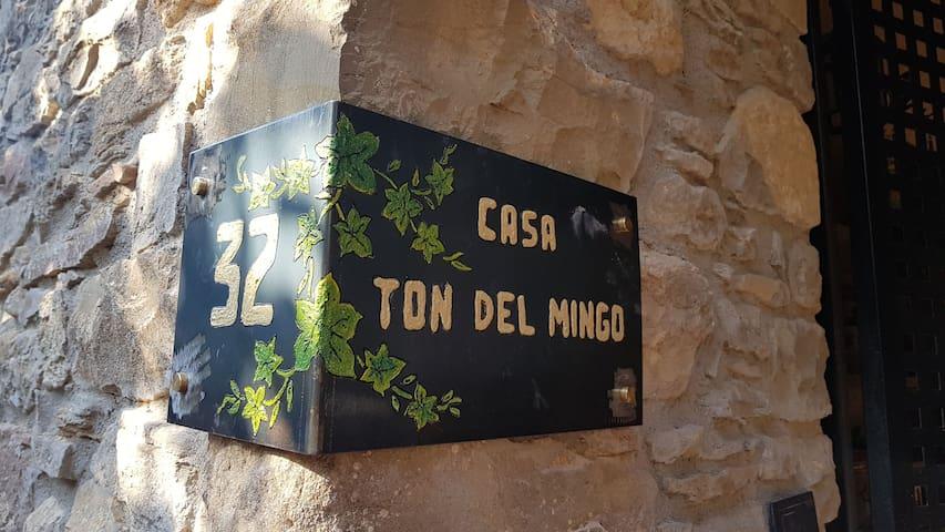 Casa Ton del Mingo,  un casa para desconectar.