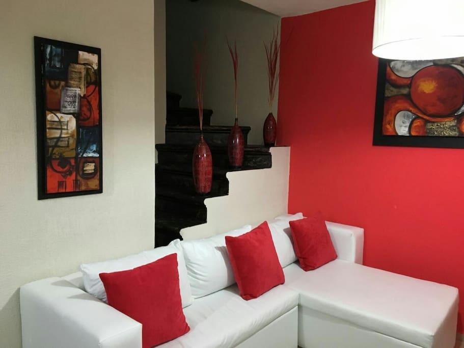 Amplio espacios y decoración estilo new york