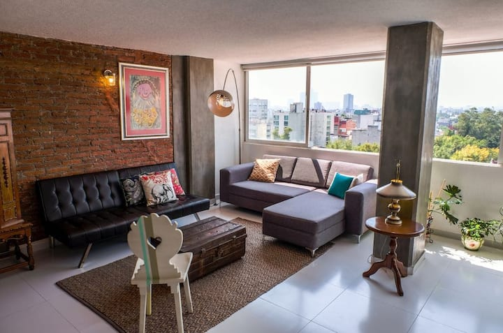 Beautiful and Spacious dept. in Condesa´s Heart