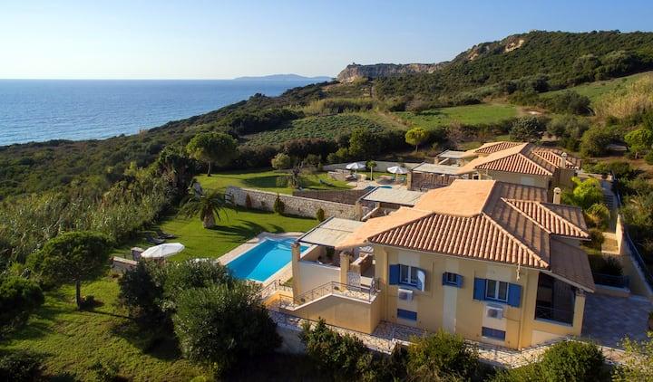 Panorama Villas in Arillas, Corfu
