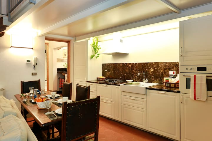 DINING ROOM AND KITCHEN AREAS