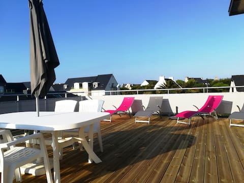 Joli appartement avec vue sur la mer et wifi