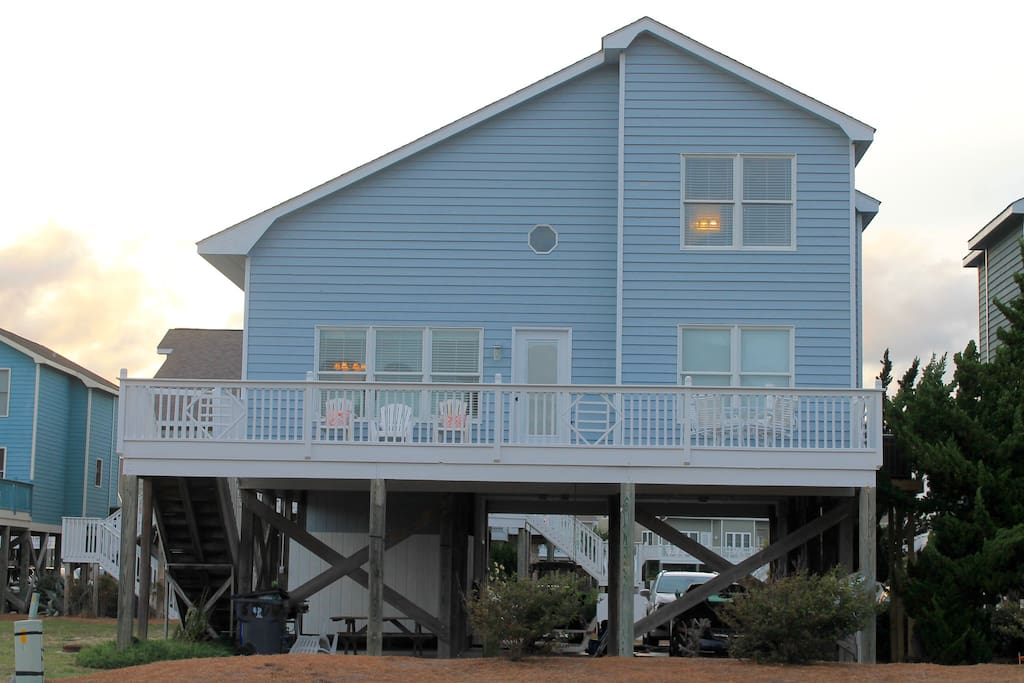 5 Bedroom Ocean Isle Beach Home With Ocean Views Houses For Rent In Ocean Isle Beach North
