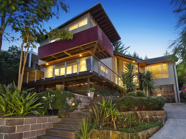 Modern, open plan living - Riverview - บ้าน